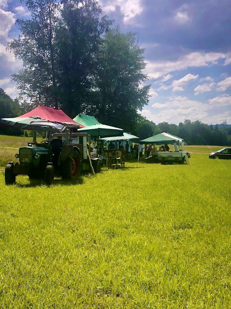 Sommerfest, organisiert von den Landwirten für die ehrenamtlichen Helfer
